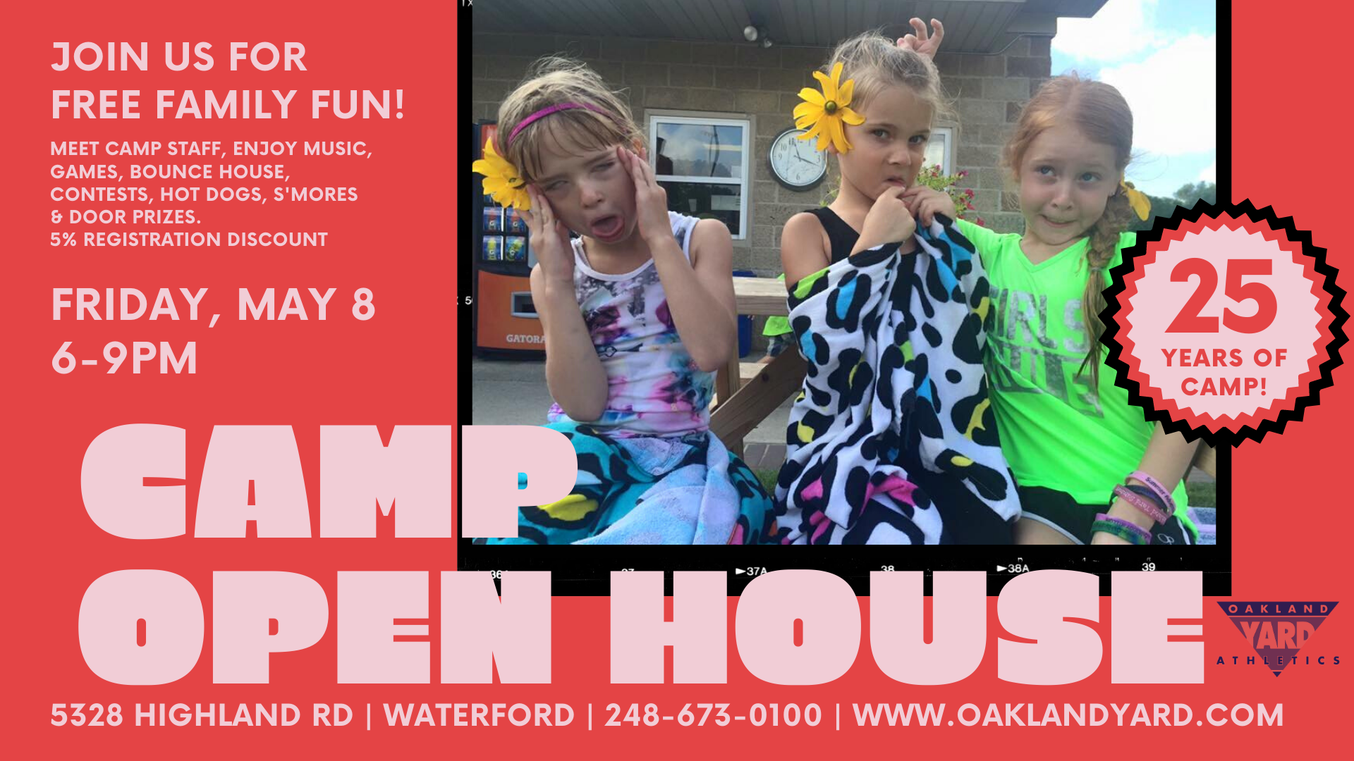 Camper Open House